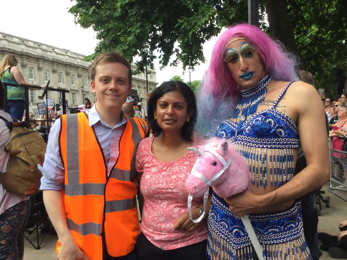 RT @Sozzinski: The trans personette with the pink unicorn makes sense but why is Owen dressed as a working man? https://t.co/nnrFxILsSM
