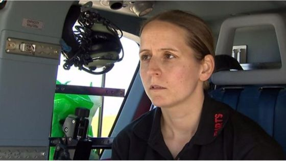Wales' flying medic chief delighted by 'unexpected' MBE