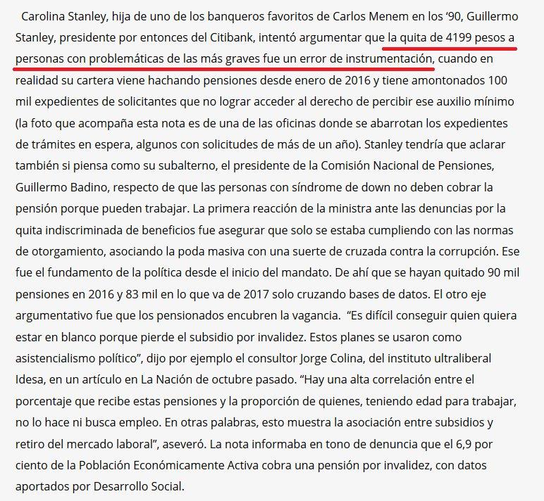 El siguiente es uno de los párrafos de la nota de Cufré… ASI NO. https://t.co/Sw4SUx1pEs