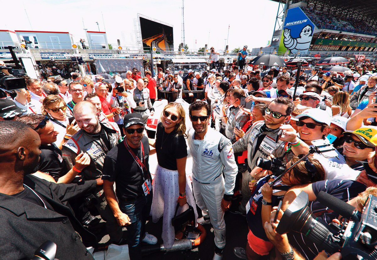 The excitement pre race ???? #LeMans24h @Porsche https://t.co/NPJY5O2LjO