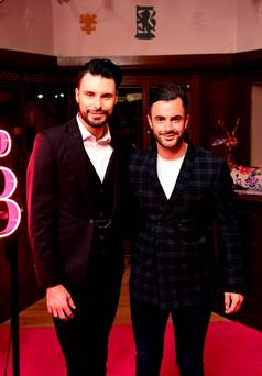 TV presenter Rylan Clark-Neal will take a year off if he and husband have baby