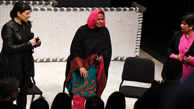 Pakistan rape victim attends US opera she inspired