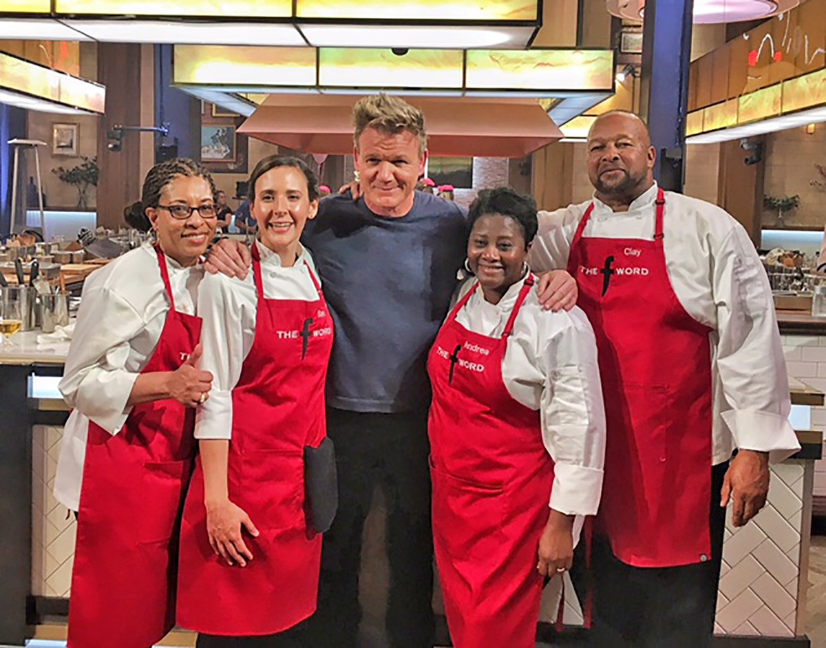 Cy-Springs Team wins cooking challenge on TV show
