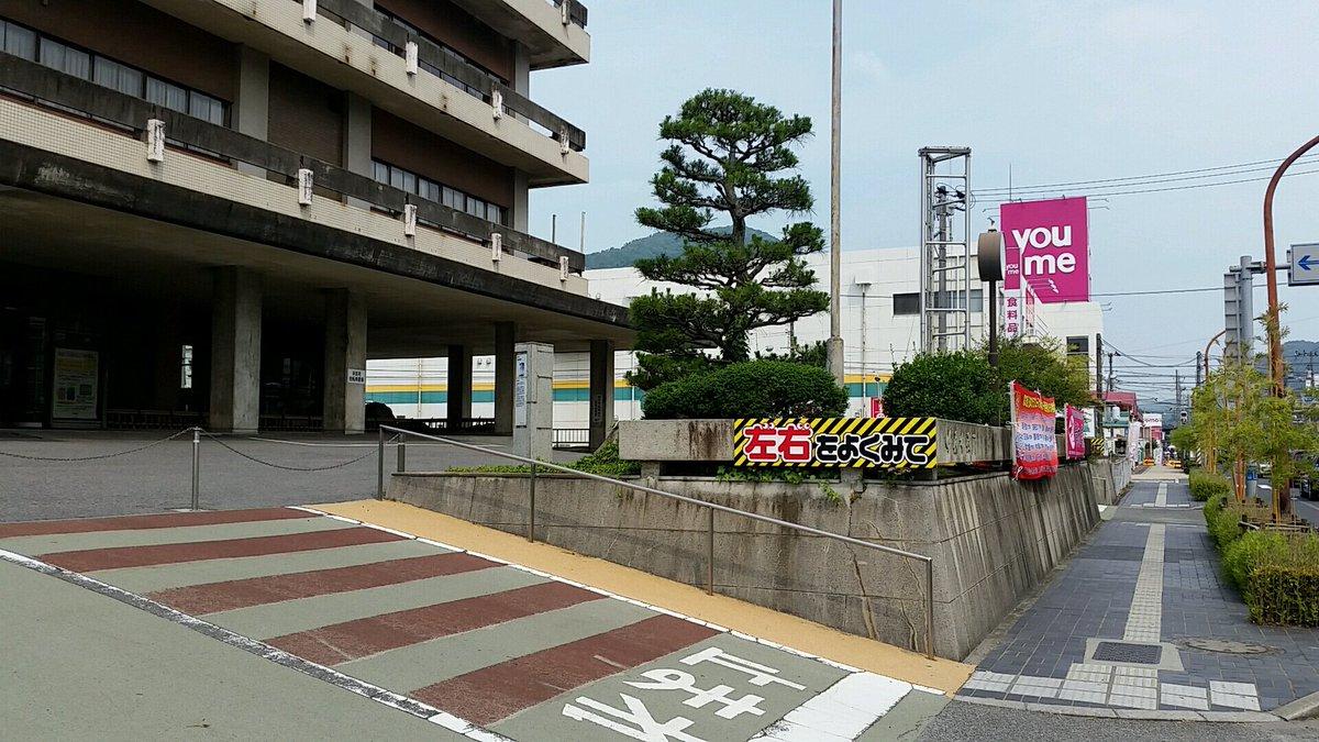 前は市役所に「たまゆら」の看板が出てたそうだけど、もうないみたい。#tamayuraアニメ聖地の成功事例って、ガルパン大