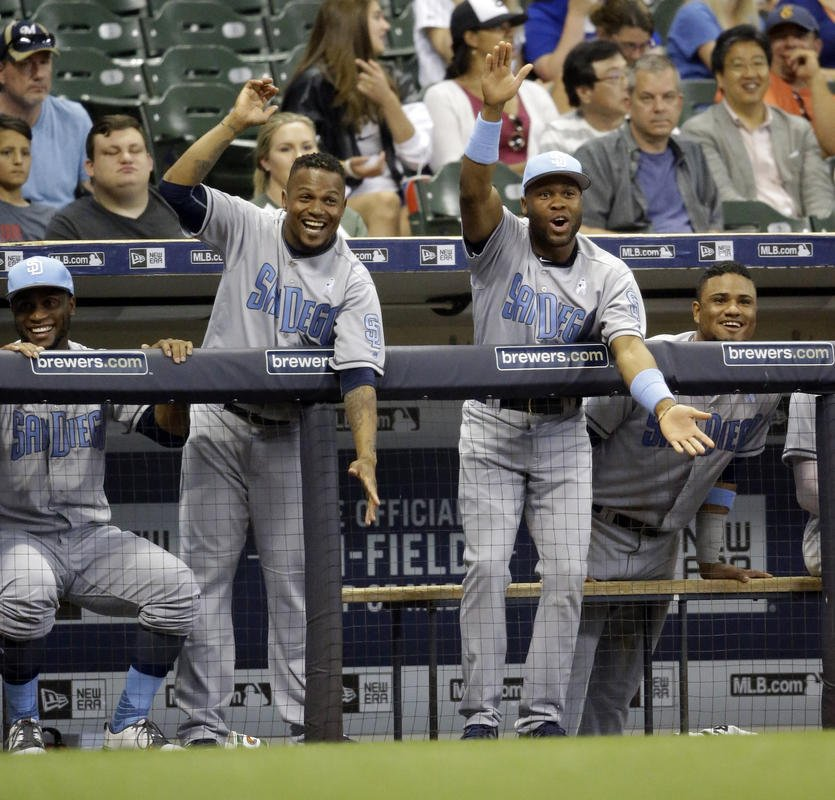 Padres beat Brewers in another slugfest, 7-5 in 11 innings