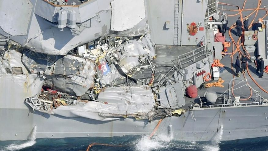 BREAKING: USS Fitzgerald: Bodies of 7 missing sailors found, US Navy says https://t.co/txLrw5KeC9 https://t.co/HaWQTPxFu2
