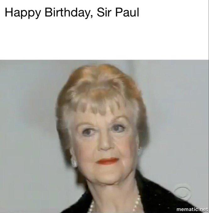 Happy 75th Birthday, Sir Paul McCartney