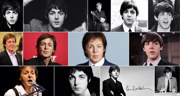 Happy 75th birthday to sir Paul McCartney....