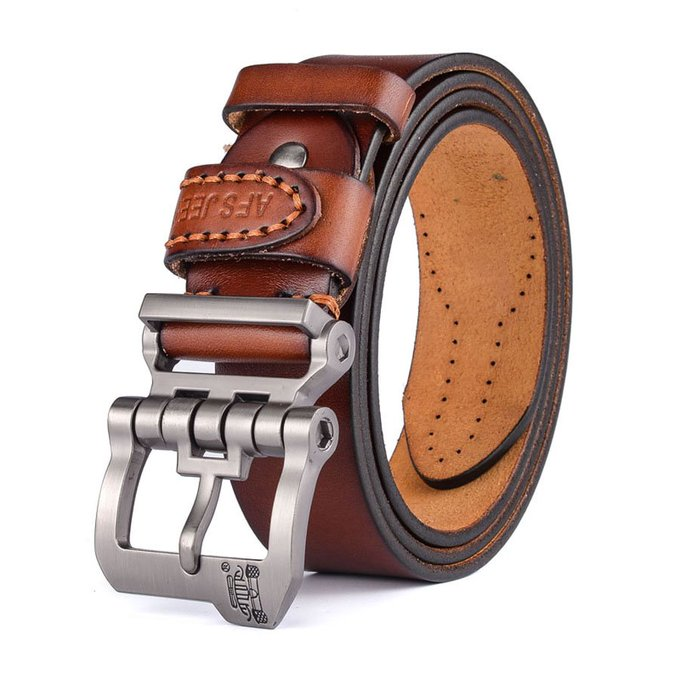Luxury Genuine Leather Buckle BeltsLuxury Genuine Leather Buckle Belts — My Monster Deal
