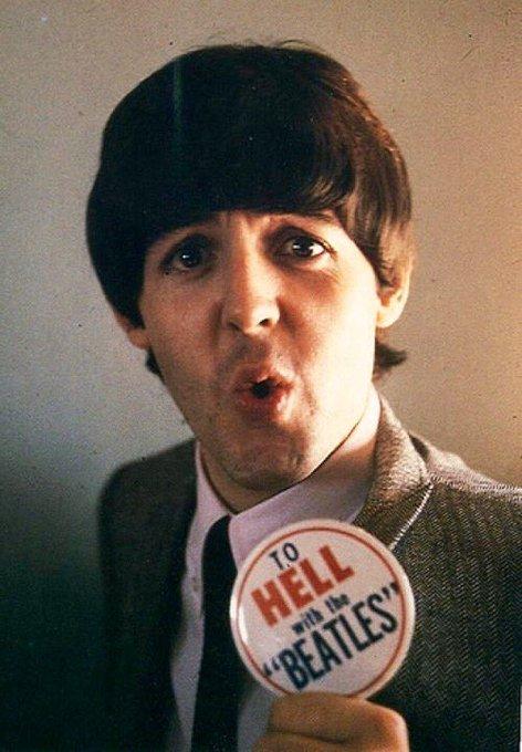 Happy Birthday Paul McCartney. 75 today!