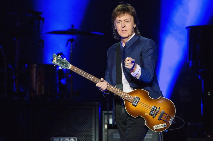 Happy Birthday \Paul McCartney\ Band: The Beatles Age: 75