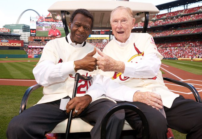 Happy Birthday to the Base Burglar! Hall of Famer Lou Brock turns 78 today!