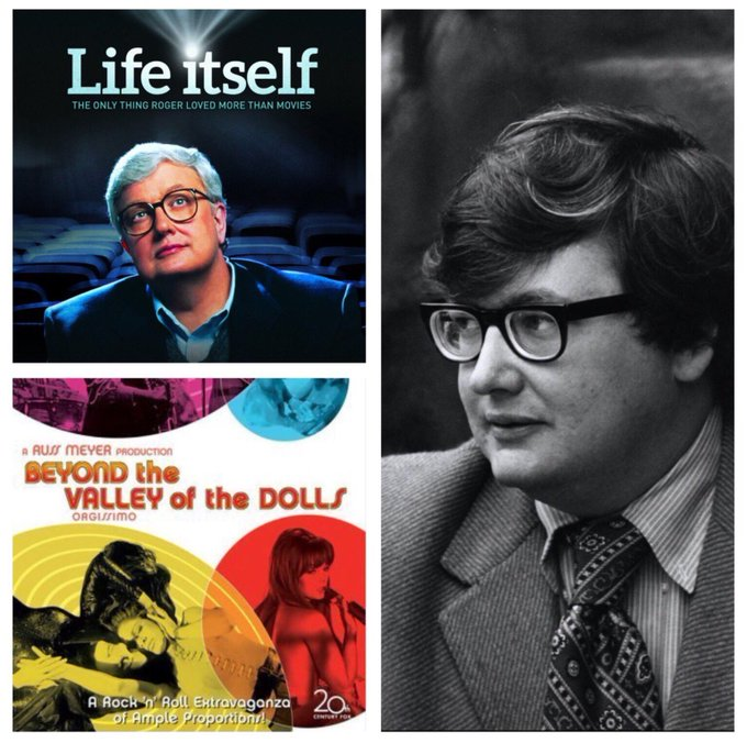 Happy 75th birthday to critic/writer/producer Roger Ebert (1942-2013)!
