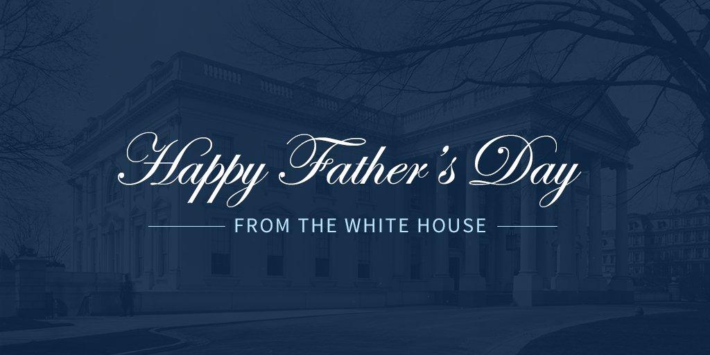 RT @WhiteHouse: Happy Father's Day! https://t.co/32tFoVa4Ov