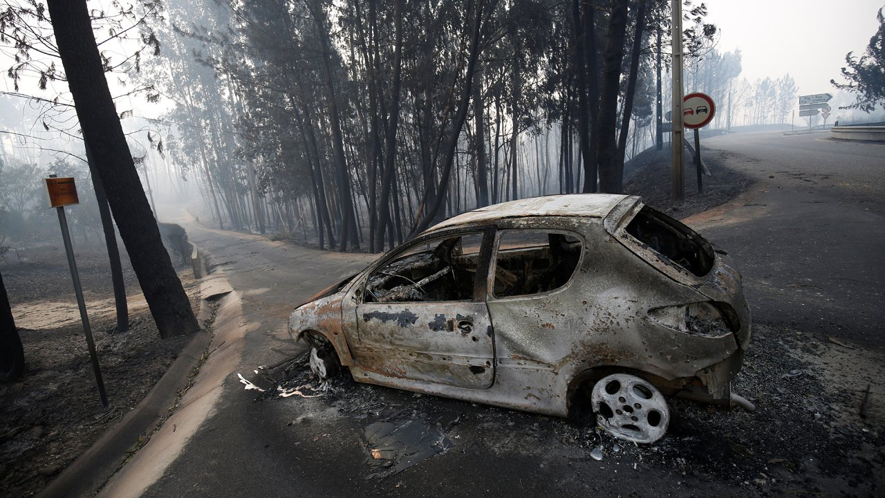 At least 57 killed in Portugal forest fires, many in cars overrun by blaze  https://t.co/s9kKCQrcy1 #FoxNewsWorld https://t.co/Ea8on2SX62