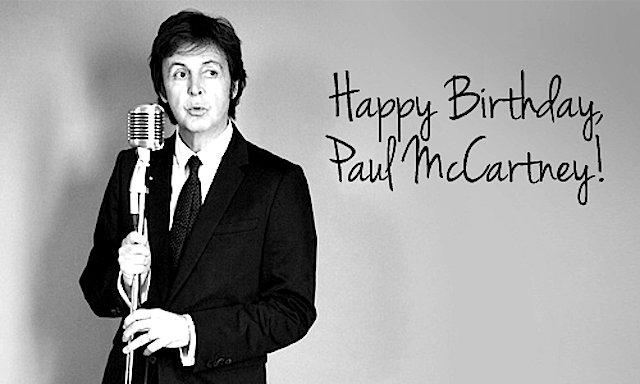 Happy 75th Birthday to Paul McCartney!!!