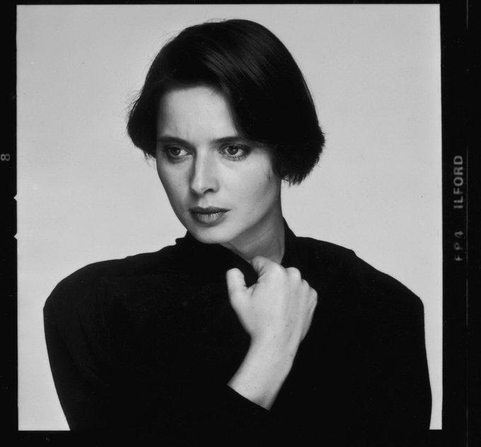 Happy Birthday, Isabella Rossellini! Born 18 June 1952 in Rome, Italy