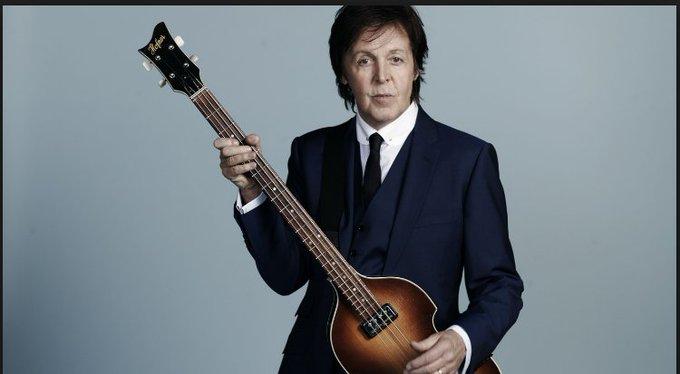 @ Paul Happy 75th Birthday to Sir Paul McCartney!