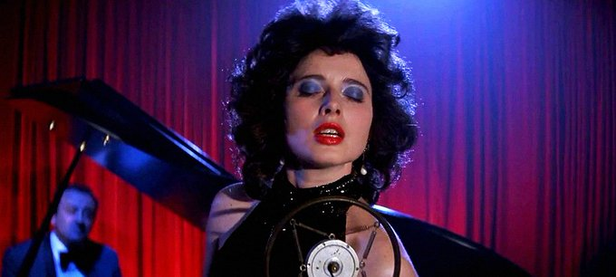 Wishing Isabella Rossellini a very happy 65th birthday! Seen here as Dorothy Vallens in Blue Velvet (1986).