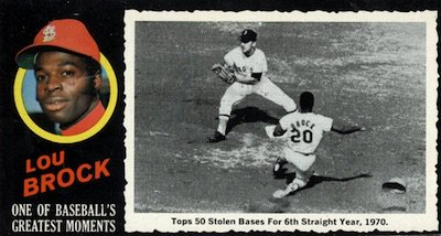 Happy 78th Birthday to Lou Brock, St. Louis Base-stealer
