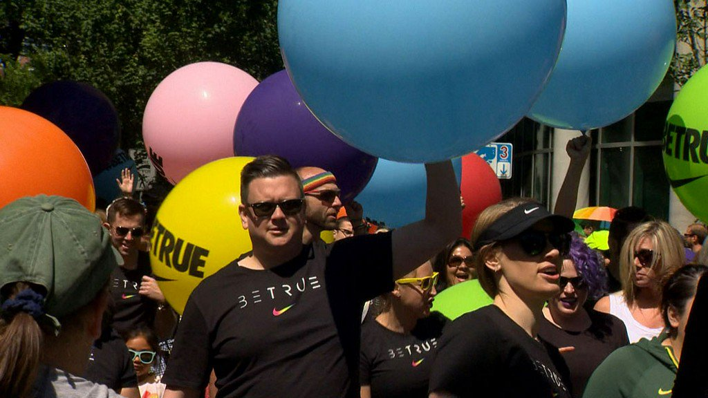 Thousands celebrate Portland Pride during weekend festivities