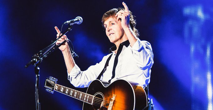 Happy Birthday and Father\s Day to James Paul McCartney.