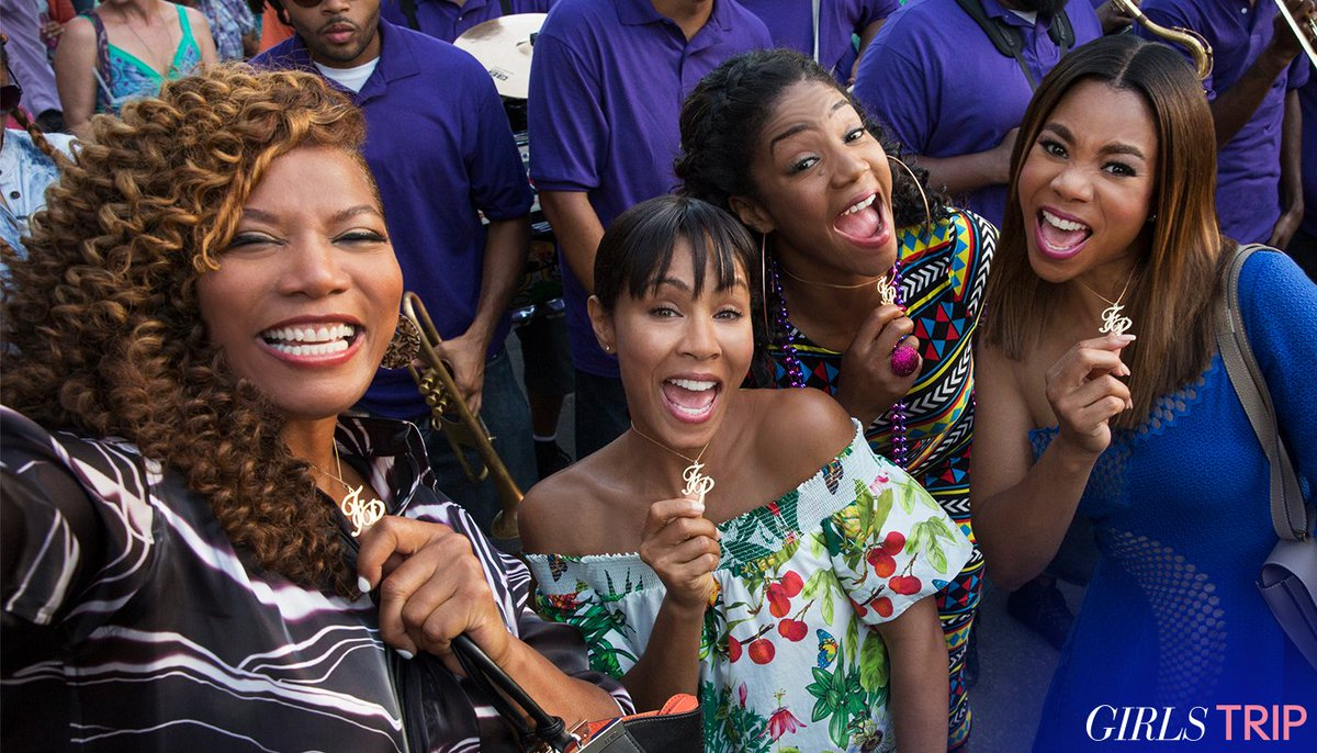So much fun making #GirlsTrip with these ladies ????❤️️ @jadapsmith @TiffanyHaddish @MoreReginaHall https://t.co/OZNGqRXRtT