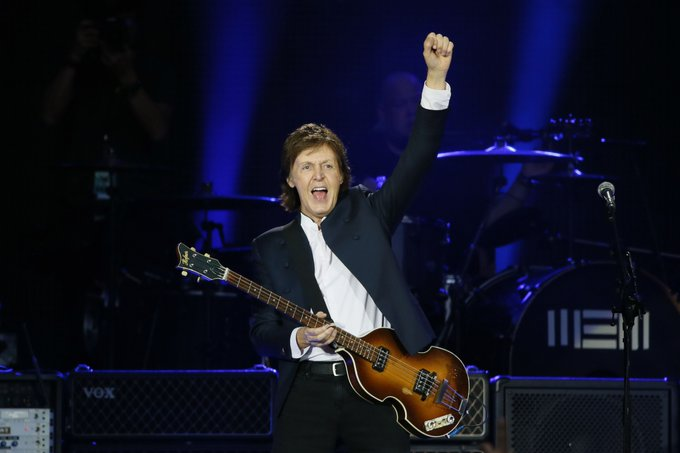 Happy 75th birthday Paul McCartney. You\re way passed 64 and we still love you. Oh and happy too