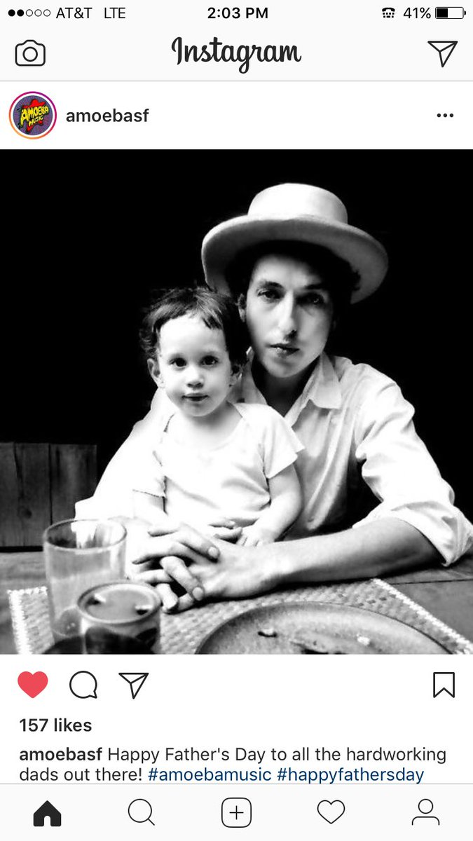 test Twitter Media - Saw @bobdylan last week with my brother & 2 of our sons. Happy #FathersDay Bob! https://t.co/orMhc0qmOS