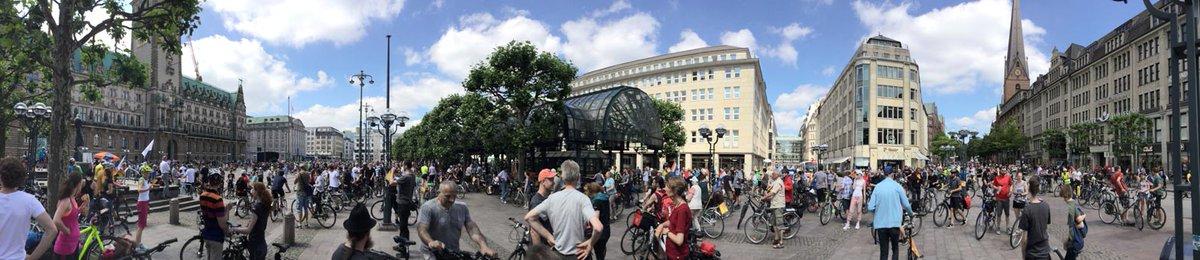 #Fahrradsternfahrt