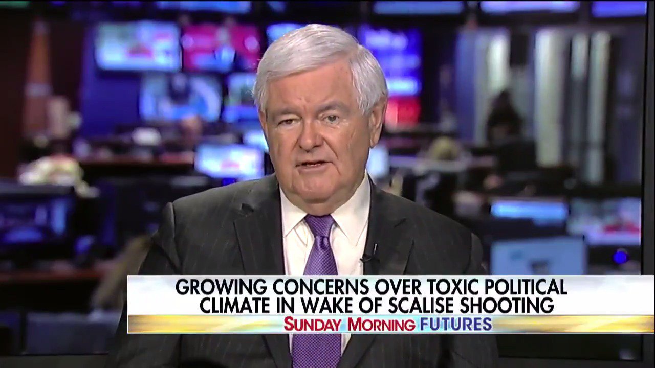.@newtgingrich: 'We've seen the left over the last 20-25 years get more and more and more militant.' https://t.co/tY04FtRN7R