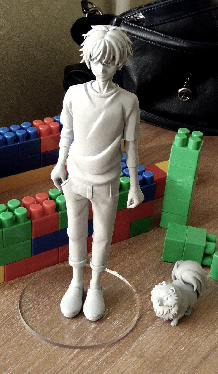 SUPER LOVERS Ren Kaidou prototype準備のための鋳造
