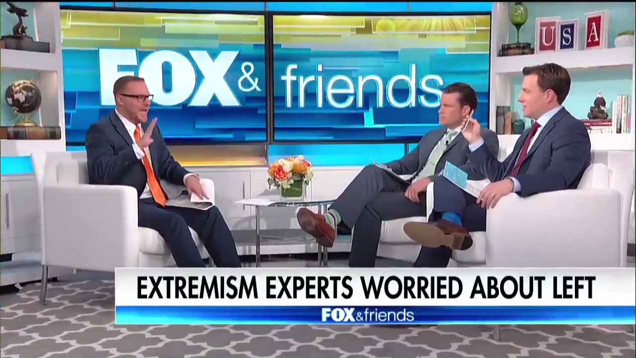 Extremism experts worried about the left. https://t.co/DsplMLEKrD