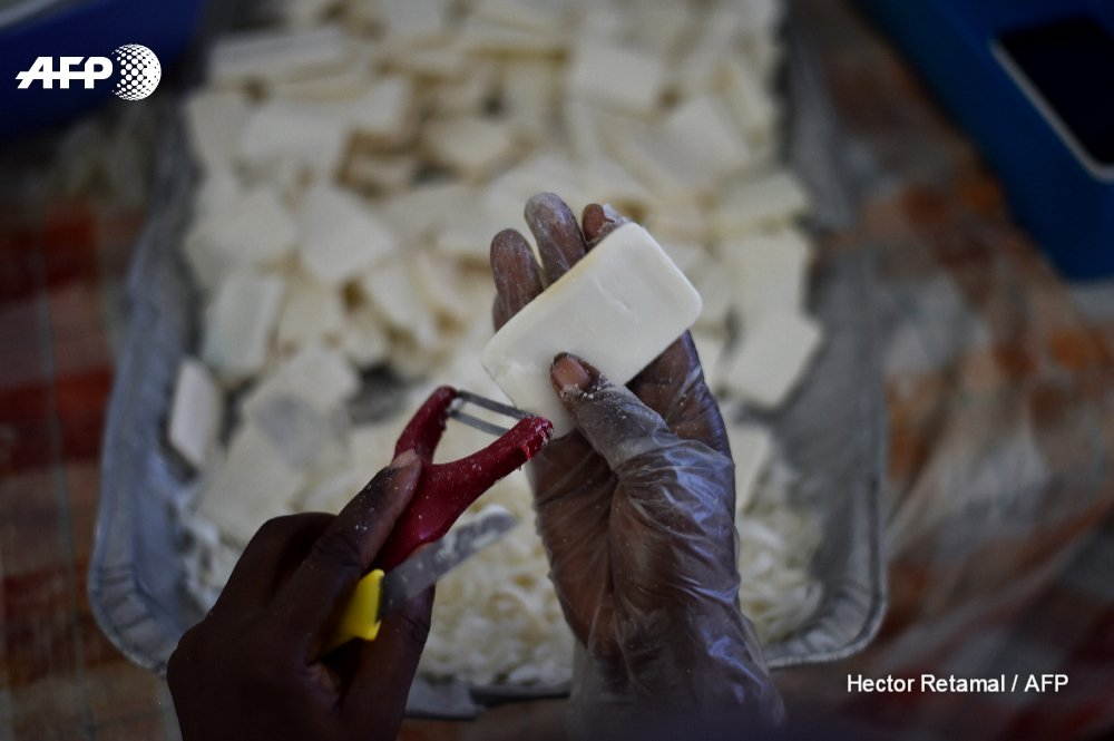 From luxury hotels to slums, Haiti puts used soap to good use