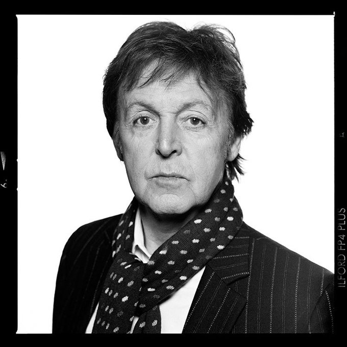 Happy Birthday to Paul McCartney! This one\s from Terry O\Neill for the Sunday Times Magazine, November 2008.