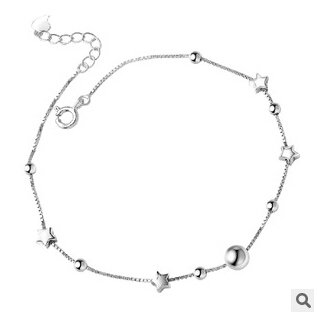 925 Sterling Silver Lucky Star Anklet925 Sterling Silver Lucky Star Anklet — My Monster Deal