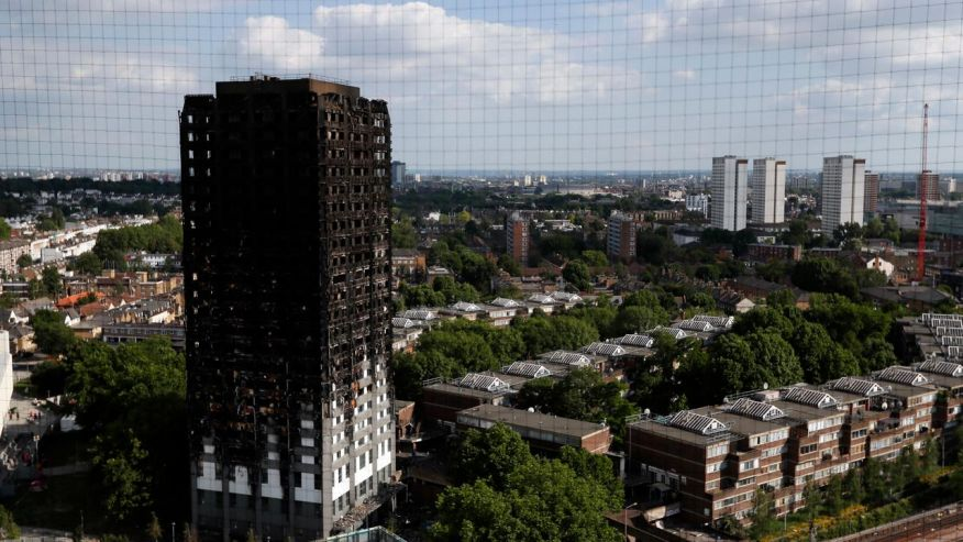 Grenfell Tower cladding is banned in UK, government says  https://t.co/maocWtQHXT via @SkyNews https://t.co/AFeg0pMIFT