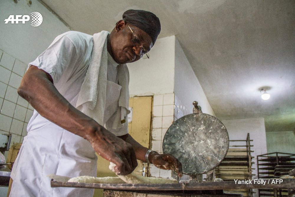 The 'Bread King' of Togo rises up