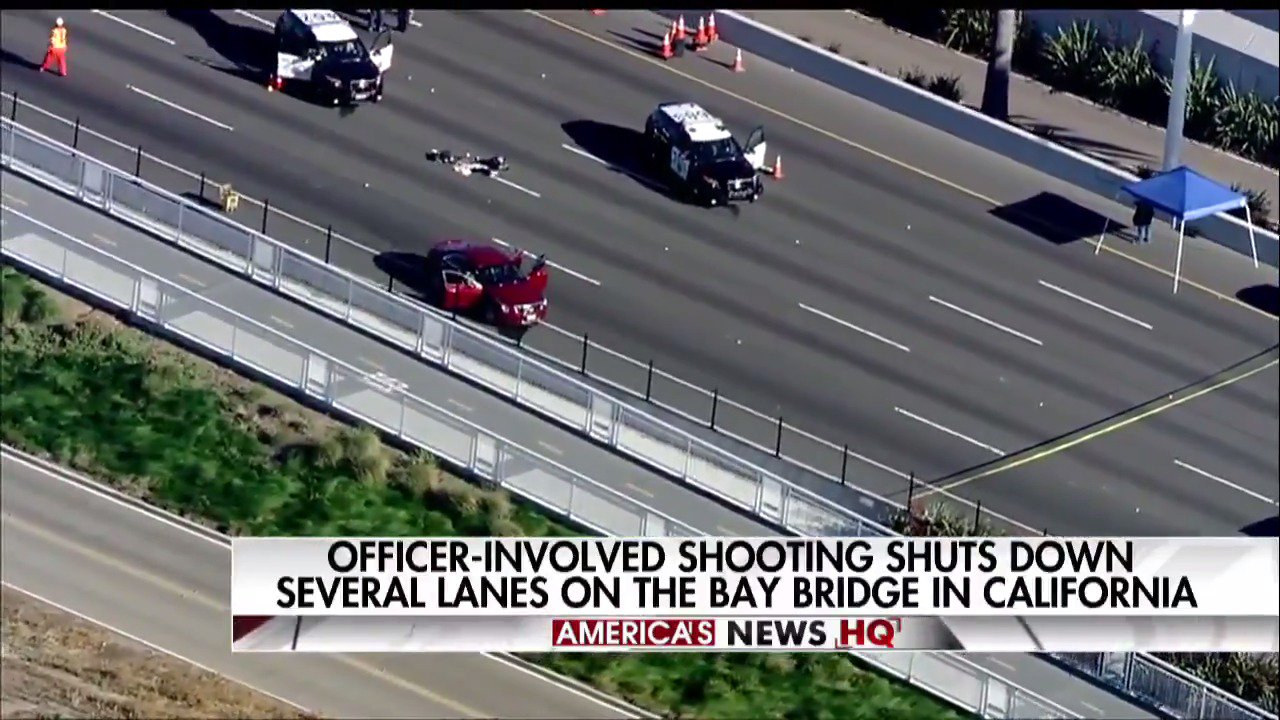 Officer-involved shooting shuts down several lanes on Bay Bridge in California. https://t.co/gQ4njIe69G