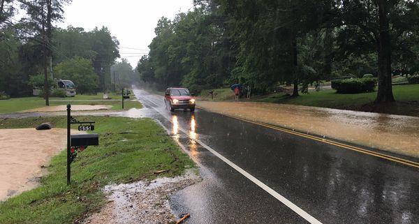 Autauga hit by flash flooding Sunday morning