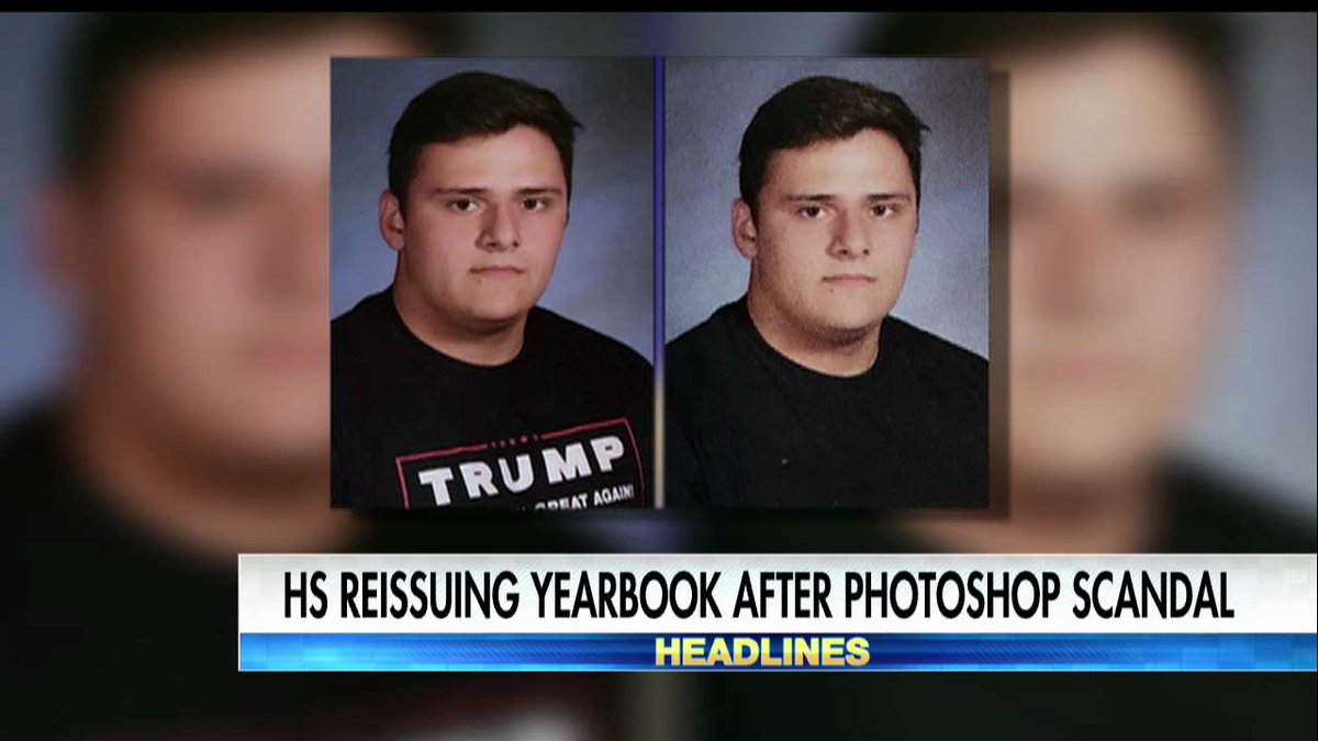 School yearbook to be reissued with pro-Trump photos https://t.co/yBuxKq8wB6 https://t.co/gdb5Z3MreL