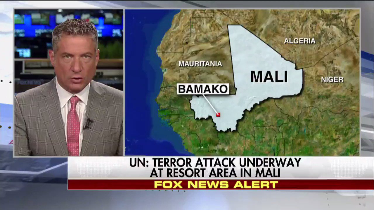 BREAKING NEWS: @UN: Terror attack underway at resort area in #Mali. https://t.co/GTWY7bHi81