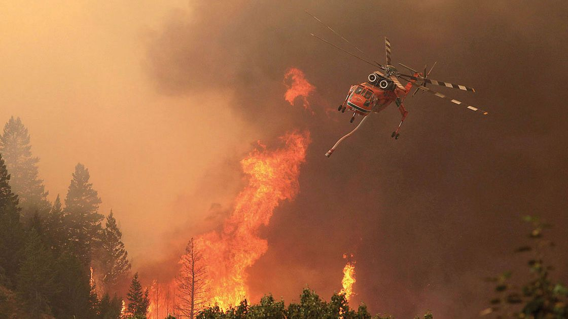 Learn about wildfire history in Ketchum
