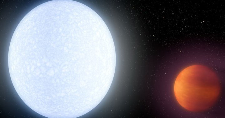 Scientists Have Discovered a Planet That's as Hot as a Star