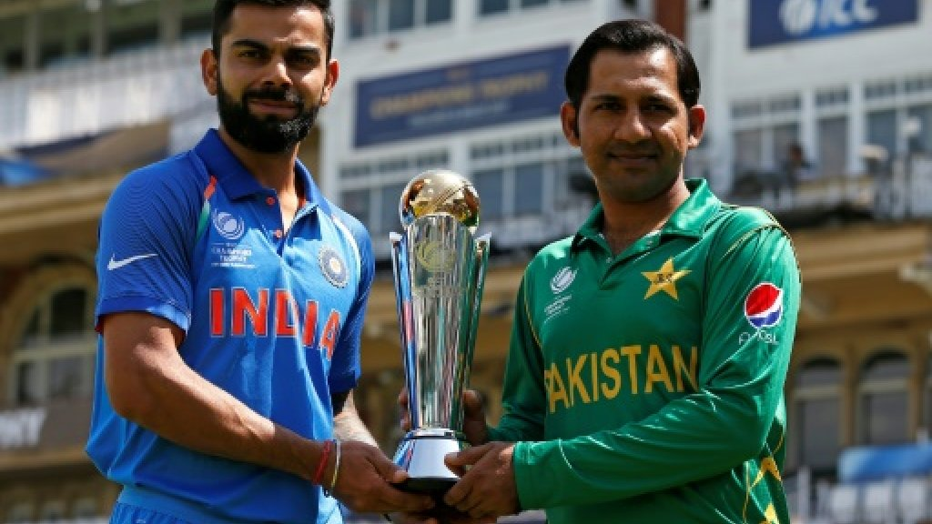 India bowl against Pakistan in Champions Trophy final