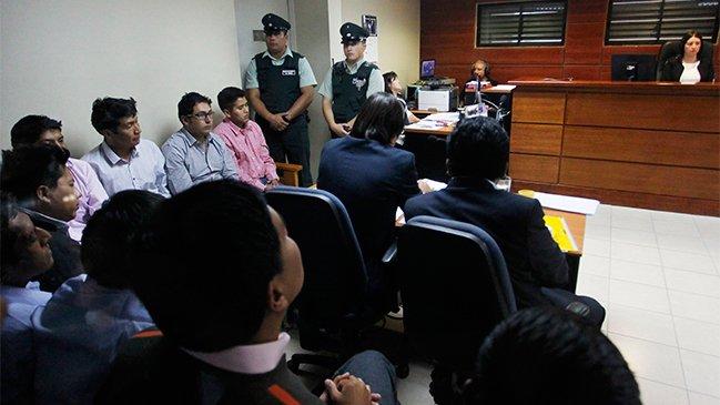 """Bolivianos detenidos en Chile """"defenderán su inocencia"""" en juicio abreviado"""