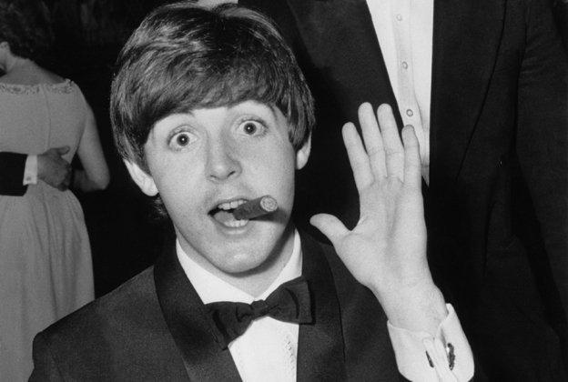 Happy birthday Paul McCartney - 75 today. A true rock star.