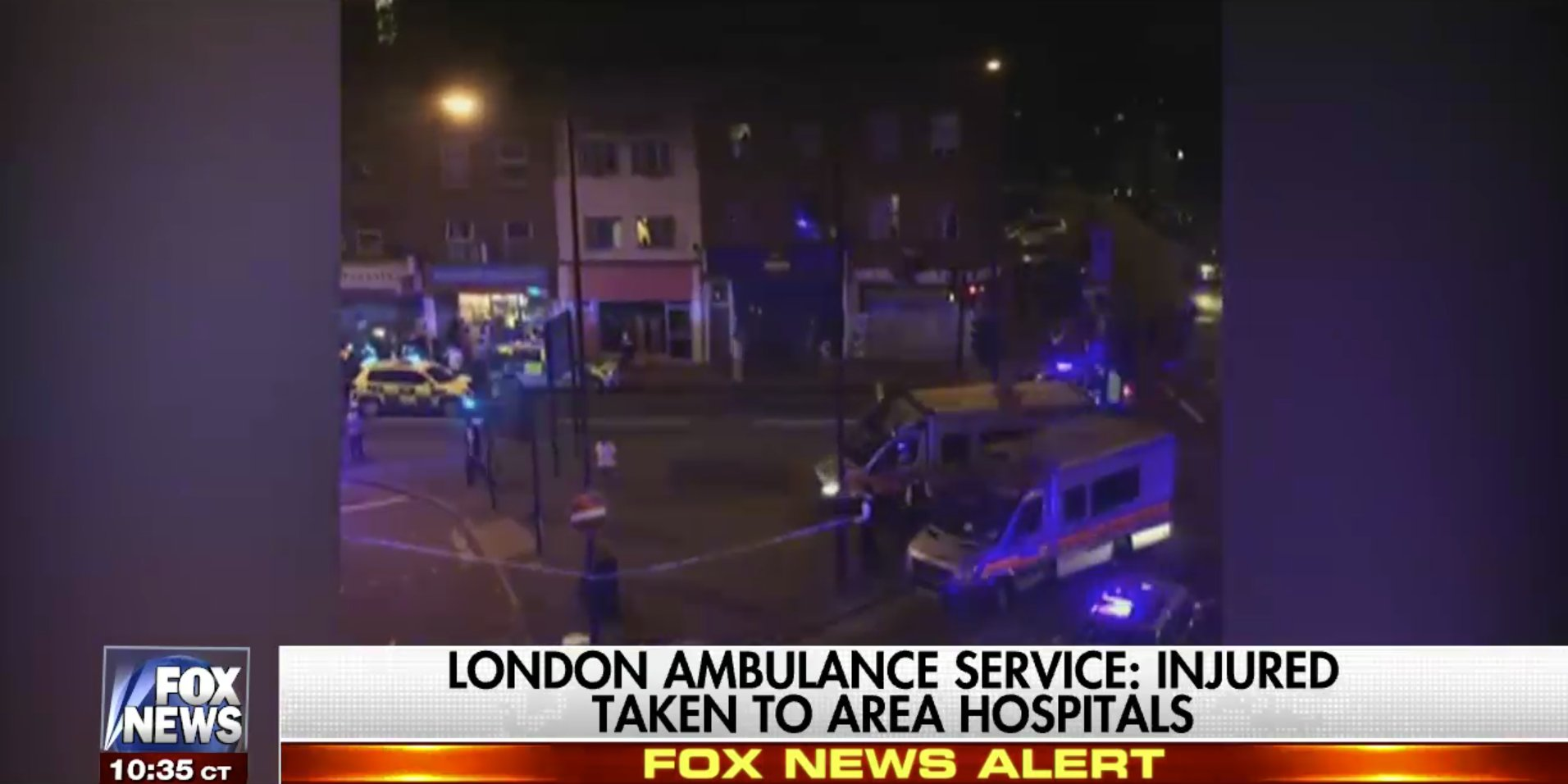 Van rams worshippers outside London mosque. Watch complete coverage now on Fox News Channel. https://t.co/fdnlkMMFZ9