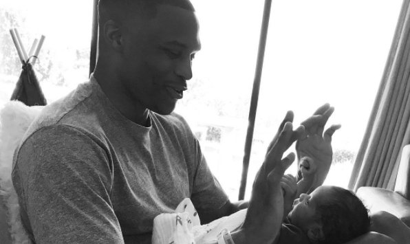 Oklahoma City Thunder's Russell Westbrook celebrates first Father's Day