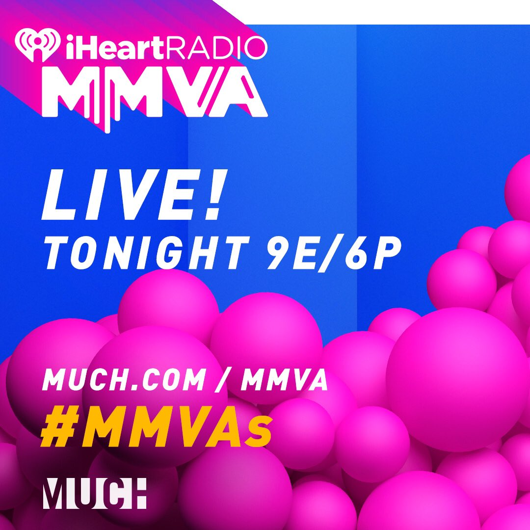 #MMVAs starting soon!! Hosting and performing! ��Watch at https://t.co/JNfZILo6e3 at 9 et / 6 pt https://t.co/EM3xpuxvUa